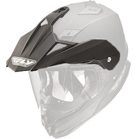 Fly Racing Replacement Visor for Trekker DS Helmet - 2015 Matte Balck