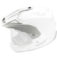 Fly Racing Replacement Visor for Trekker DS Helmet - 2015 White