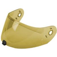 HJC HJ-20 Pinlock-Ready Face Shield Amber
