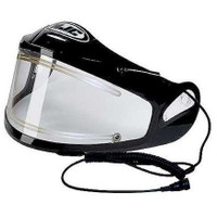 HJC HJ-09E Electric Face Shield Clear