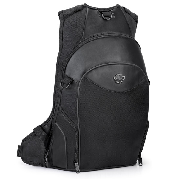 Viking Motorcycle Medium Backpack Front Side View