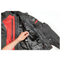 Joe Rocket Atomic 5.0 Jacket Black/Red3