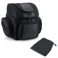 Medium Motorcycle Back Seat Luggage Bag With Cover