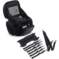 Medium Motorcycle Back Seat Luggage With Accessories