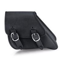 Dyna Motorcycle Black Swing Arm Bag
