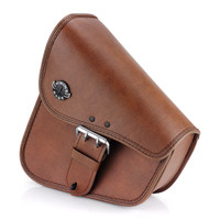 Viking Dellingr Brown Dyna Motorcycle Swing Arm Bag 1