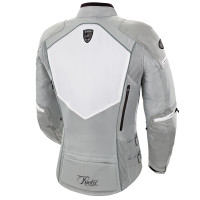 Joe Rocket Atomic 5.0 Women's Jacket White Back Side View