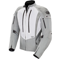 Joe Rocket Atomic 5.0 Women's Jacket White Front Side View