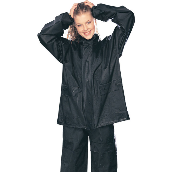 Tour Master PVC Rain Suit Black