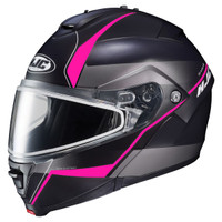 HJC IS-Max 2 Mine Snow Helmet - Dual Lens Pink