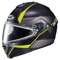 HJC IS-Max 2 Mine Snow Helmet - Dual Lens Yellow