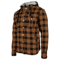 Speed and Strength Standard Supply Moto Shirt Brown