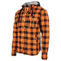 Speed and Strength Standard Supply Moto Shirt Orange