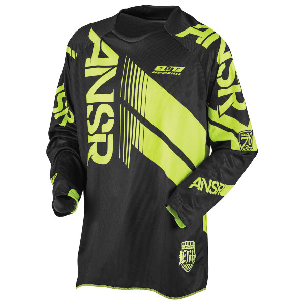 Answer Racing A17 Elite Jersey Black