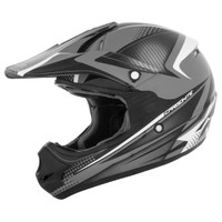 Cyber UX-23 Carbonite Helmet Black/Gray