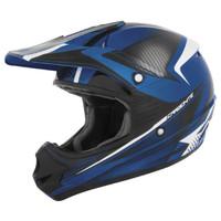Cyber UX-23 Carbonite Helmet Black/Blue