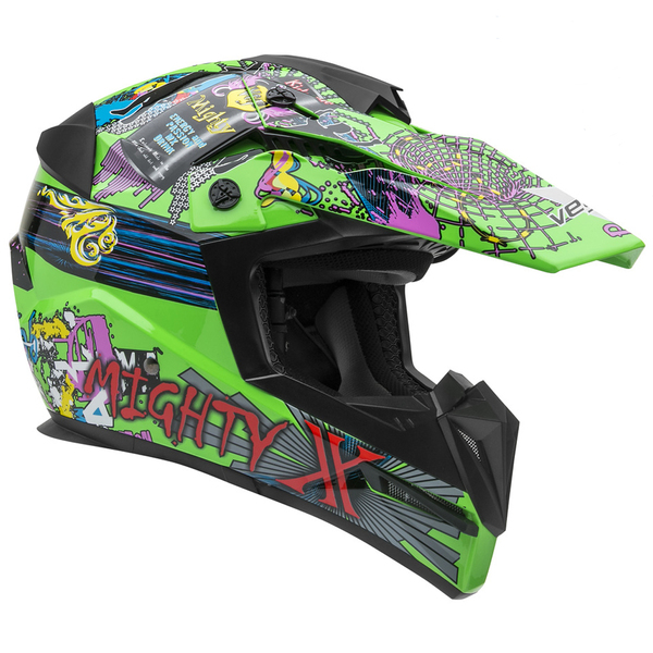 Vega Mighty X Jr. Super Fly Off Road Helmet Green
