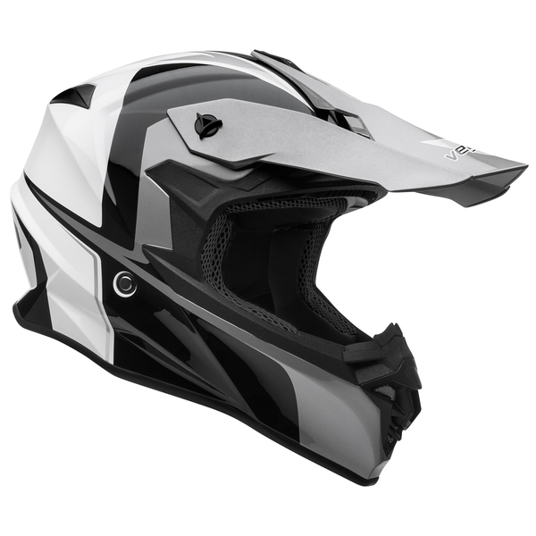 Vega VF1 Stinger Off Road Helmet Black