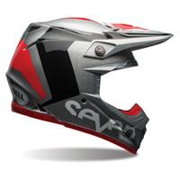Bell Moto-9 Flex Seven Rogue Helmet  Red