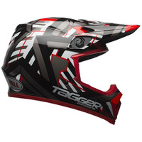 Bell MX-9 MIPS Tagger Double Trouble Helmet Red