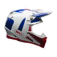 Bell Moto-9 Flex Vice Helmet Blue