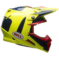 Bell Moto-9 Flex Vice Helmet Yellow