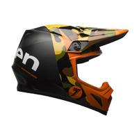 Bell MX-9 MIPS Seven Soldier Helmet Orange