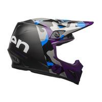 Bell MX-9 MIPS Seven Soldier Helmet Purple