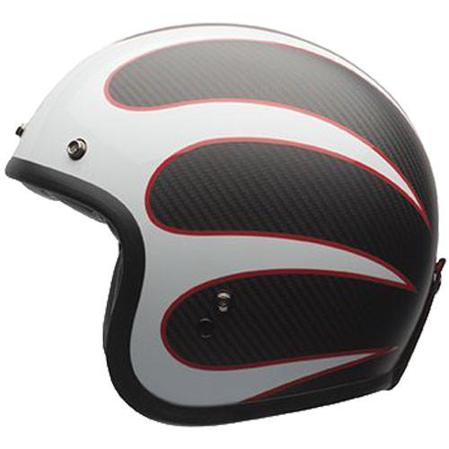 Bell Custom 500 Carbon Ace Cafe Ton Up Helmet