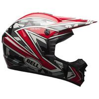 Bell SX-1 Whip Camo Helmet Red