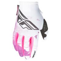 Fly Racing Kinetic Girl's Gloves Purple-1