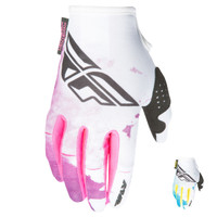 Fly Racing Kinetic Girl's Gloves Both Colors