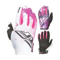 Fly Racing Kinetic Women's Gloves Pink