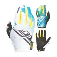Fly Racing Kinetic Women's Gloves Teal