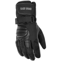 Black Brand Crossover Gloves
