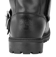 Black Brand Thug Boots Back