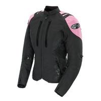 Joe Rocket Atomic 4.0 Women's Jacket Pink Front Side