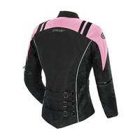 Joe Rocket Atomic 4.0 Women's Jacket Pink Back Side