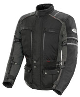 Joe Rocket Ballistic Adventure Touring Jacket Black Front Side