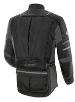 Joe Rocket Ballistic Adventure Touring Jacket Black Back Side