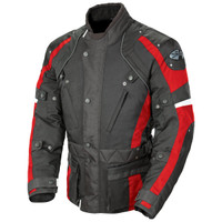 Joe Rocket Ballistic Revolution Textile Jacket Red