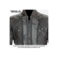 Joe Rocket Ballistic Revolution Textile Jacket Front Closure Zipper