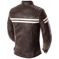 Joe Rocket Classic '92 Women Jacket Brown Back Side