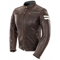 Joe Rocket Classic '92 Women Jacket Brown Front Side