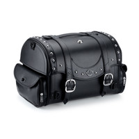 Viking Century Studded Trunk   Motorcycle Sissy Bar Bag