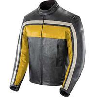 Joe Rocket Old School Jacket Yellow