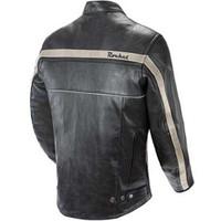 Joe Rocket Old School Jacket Black Back Side View