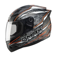 Gmax GM69 Mayhem Helmet Orange