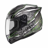 Gmax GM69 Mayhem Helmet Green