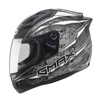 Gmax GM69 Mayhem Helmet White